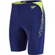 speedo Boom Splice Jammer Men Navy/Lime Punch